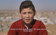 Ahmed, refugee in Iraq. In Their Own Words, Film for UNICEF
